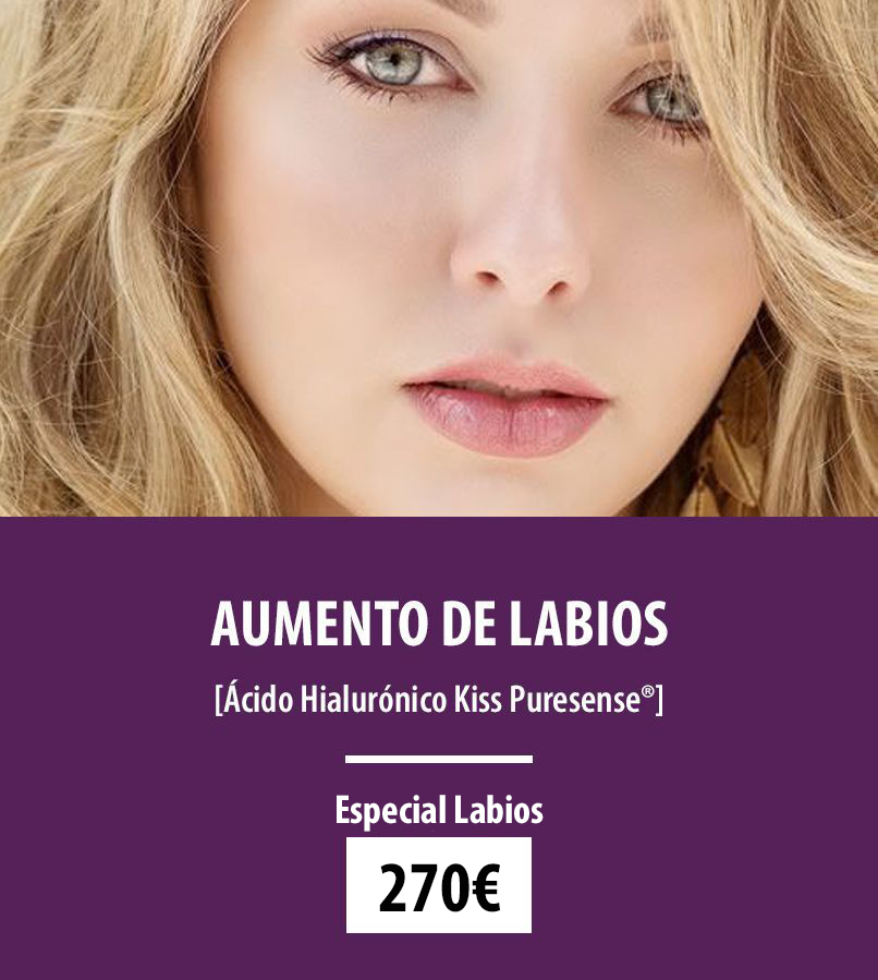 oferta acido hialuronico labios en gandia